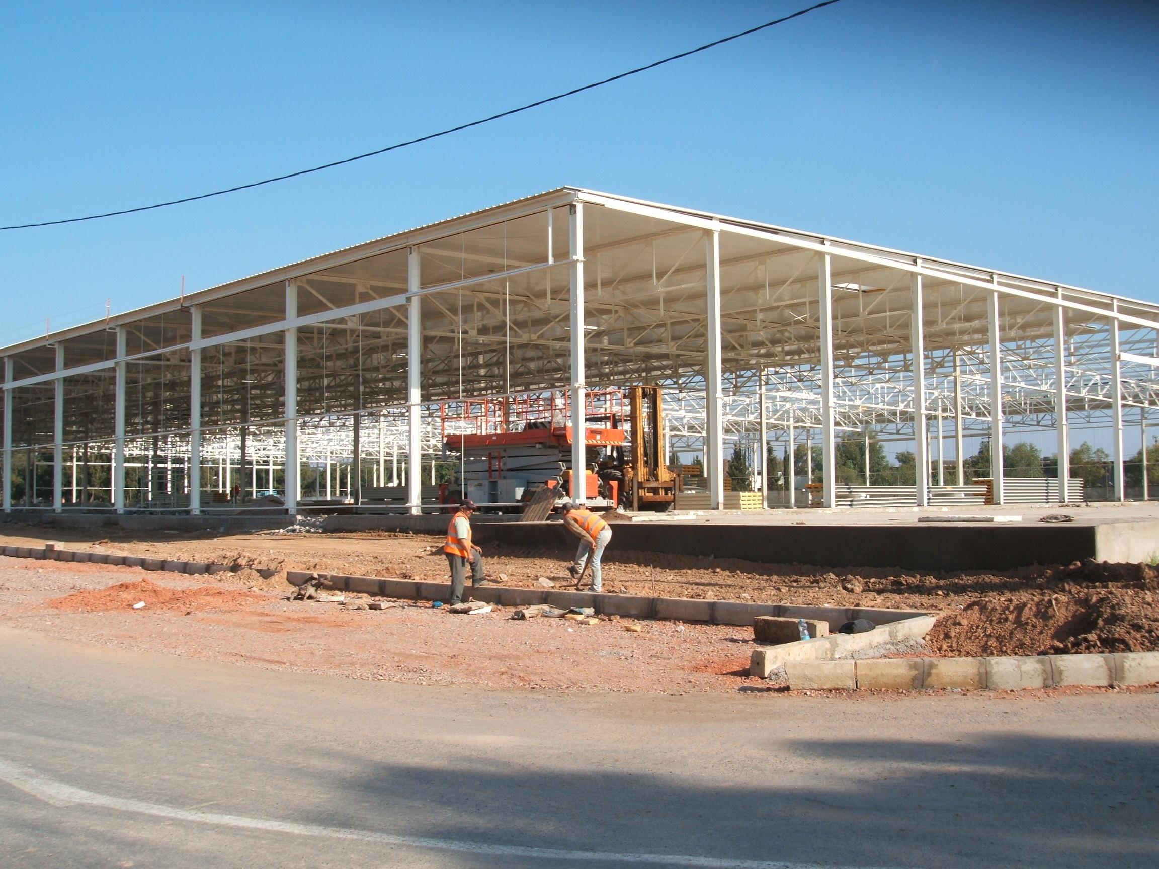 Morocco: Construction of the new hangar
