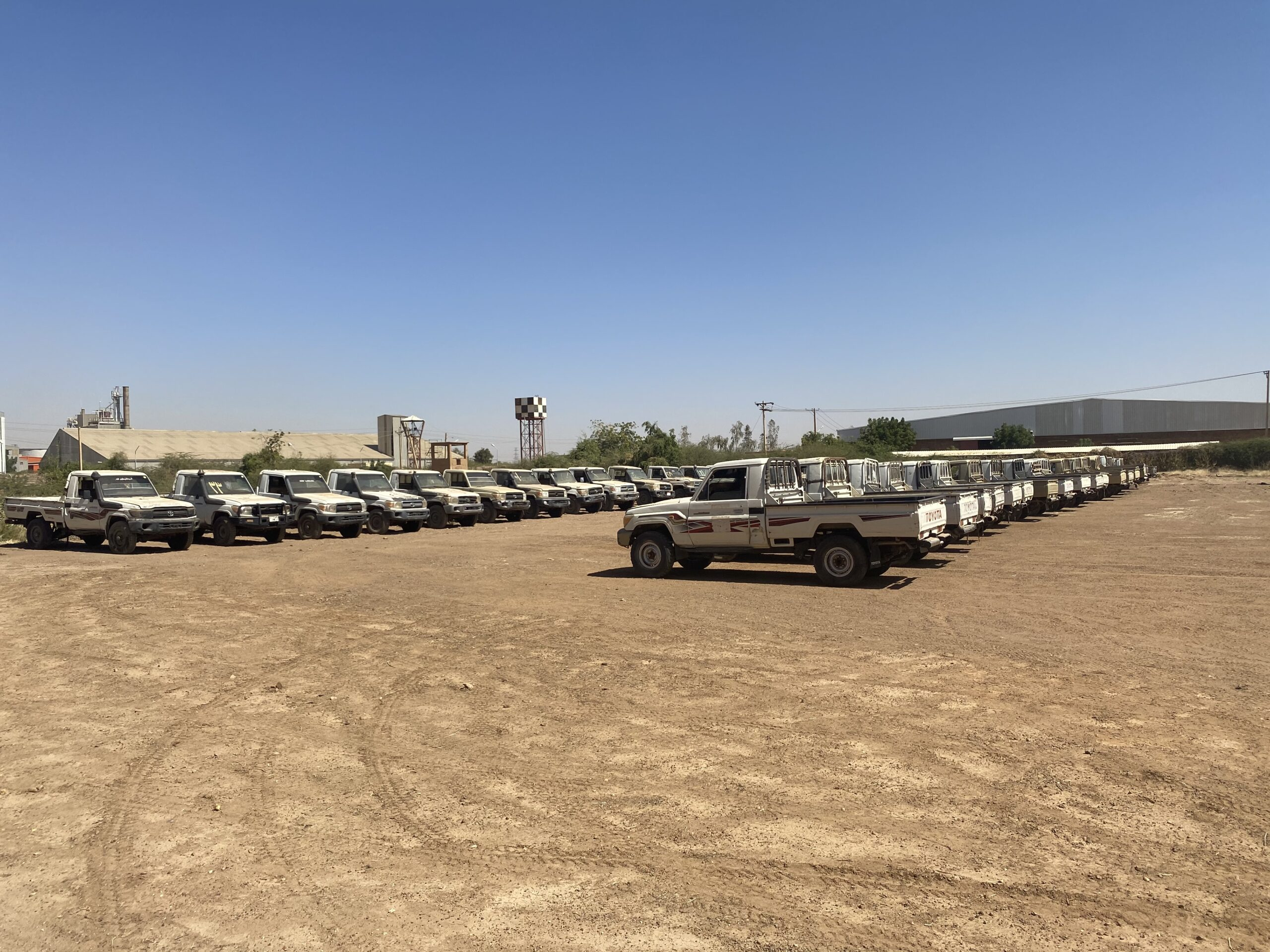 Northern Africa: Fleet overhaul and maintenance