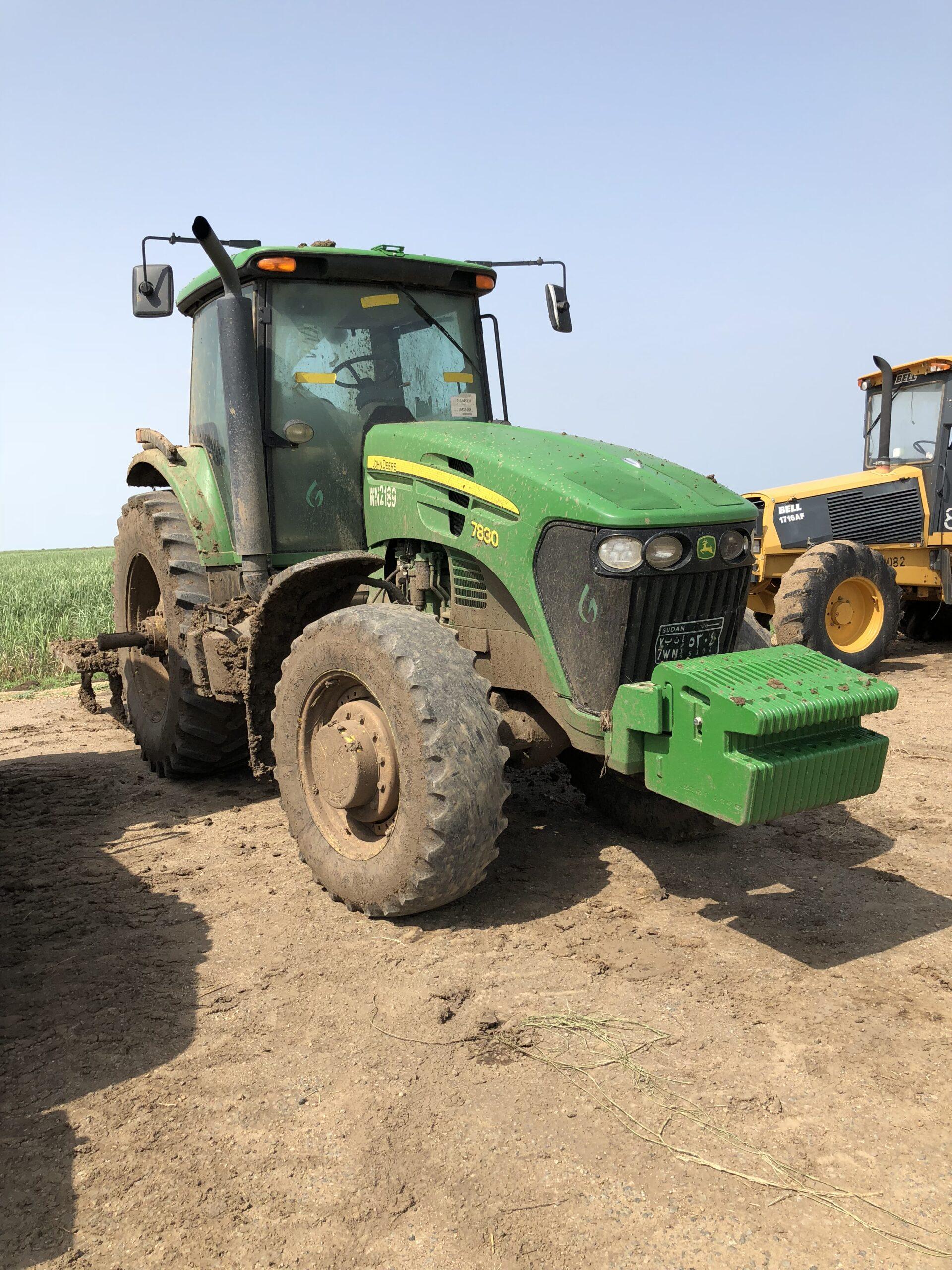 Tanzania: Overhaul and maintenance on tractors