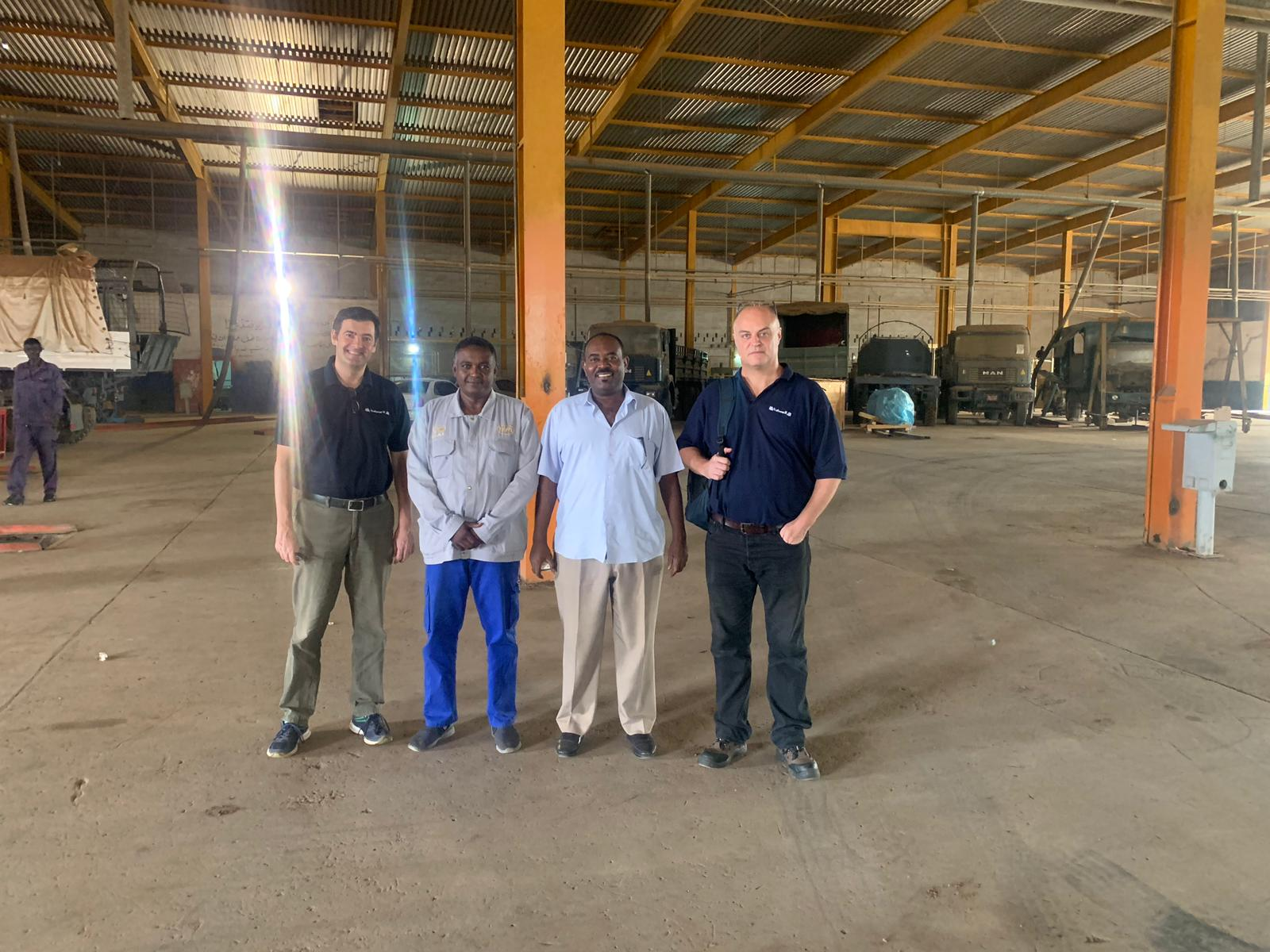 Northern Africa: The team