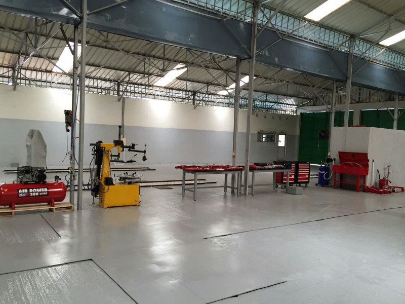 Guinea: Completed and equipped workshop