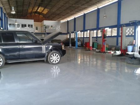 Angola: Inside the completed workshop